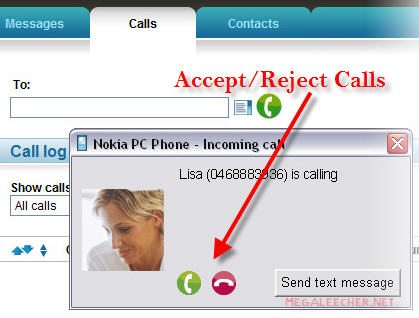 Accept Reject Calls