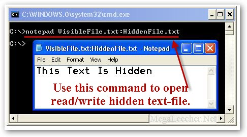 Hidden Text File