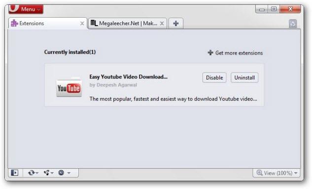 Opera Youtube Download Plugin | Megaleecher Net