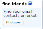Orkut Login Find Friends