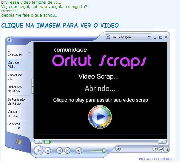 Orkut Scrap Virus