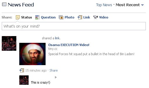 Osama Bin Laden Execution Video