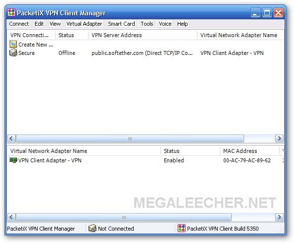 PacetiX.NET VPN Setup