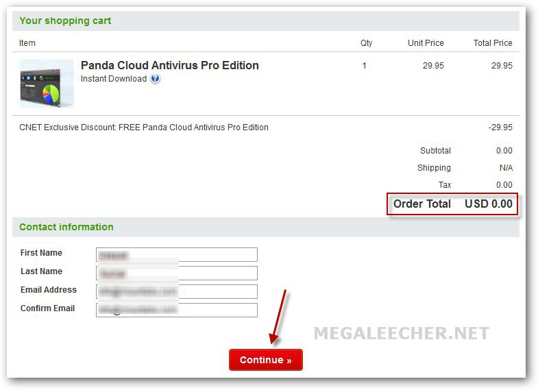 Panda Cloud Antivirus PRO 1 Year Activation License Key For Free785