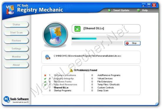 PCTools Registry Mechanic