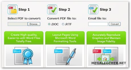 Online PDF To Word Conversion