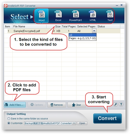AnyBizSoft 5-in-1 PDF Converter
