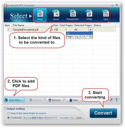 download anybizsoft pdf to excel converter