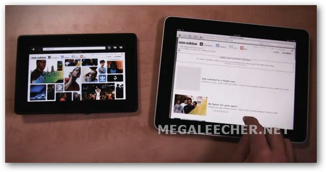 Apple iPad Vs Blackberry Playbook