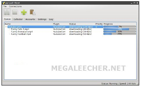 pyLoad Multi-host Download Manager