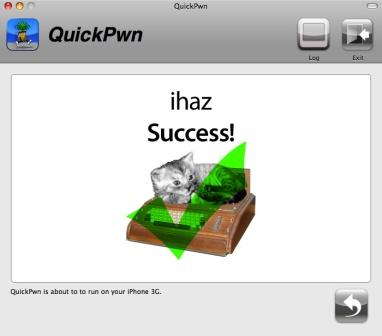 Quickpwn Unlocking Process Success