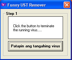 Funny Scandal Virus Removal Tool