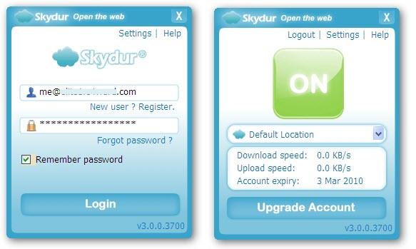 Skydur Proxy Service