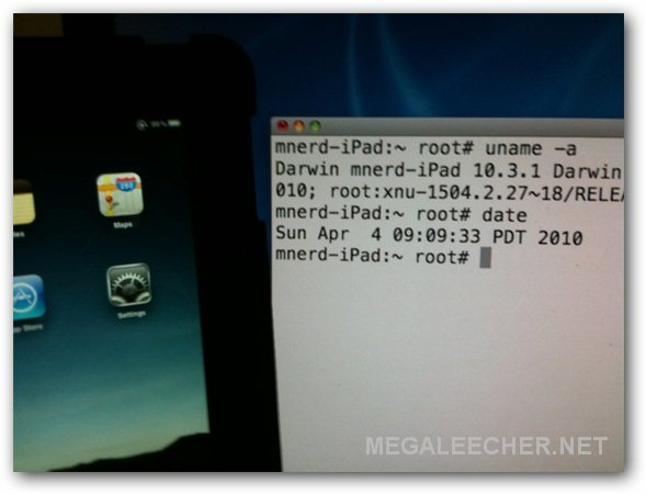 Spirit Jailbreak For Apple iPad
