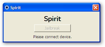 Spirit Jailbreak For Windows