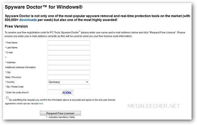 Spyware Doctor 2011 Serial Key