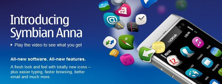 Nokia Symbian Anna Mobile Software Upgrade
