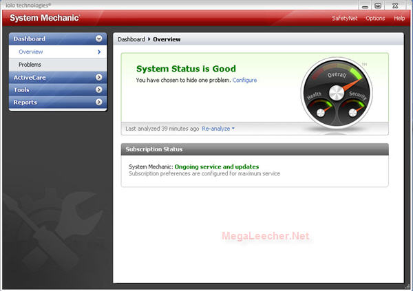 System Mechanic 8