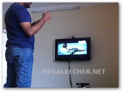 Microsoft Kinect Controlling Tata Sky DTH Box