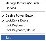 Disable Mouse, Keyboard, CD/DVD Drives And Power Button