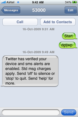 Twitter SMS Comes To India, Supports Airtel For Now | Megaleecher Net