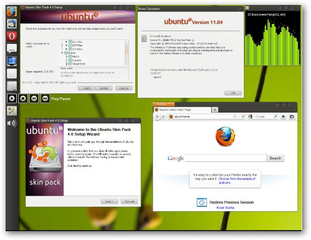 Ubuntu 11.04 Natty Narwhal For Windows 7