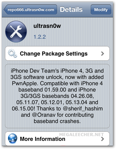 ultrasn0w carrier unlock version 1.2.2