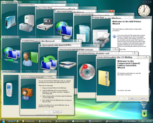 Windows XP Vista Theme Look