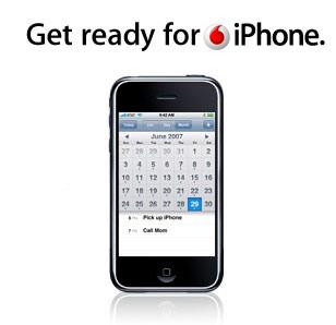 Vodaphone iPhone India