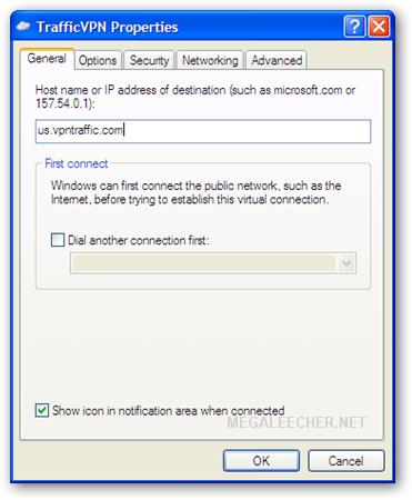 TrafficVPN Server Configuration