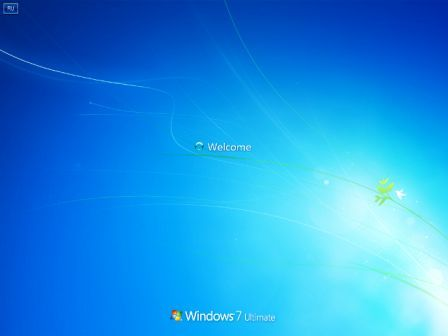 Windows 7 Welcome Screen