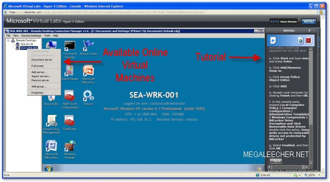 Try Windows 7 Online In A Virtual Machine