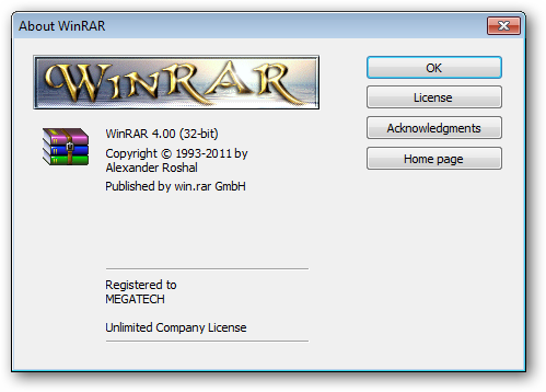 Winrar 4 Registration