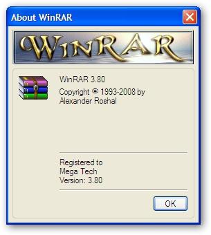 Grab A Personal Winrar 3.80 Registration Key For Free.