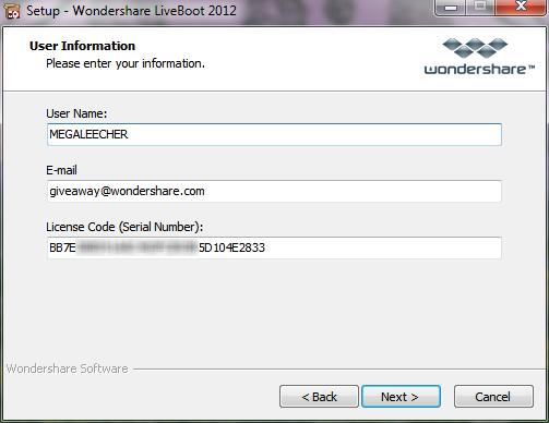 <b>Retrieve Registration Code</b> - <b>Wondershare</b>