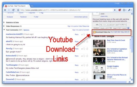 Now Download Youtube Videos In MP3, FLV, 3GP, MP4 And HD ...