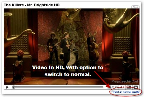 Menonton dan download video youtube kualitas tinggi (high definition)